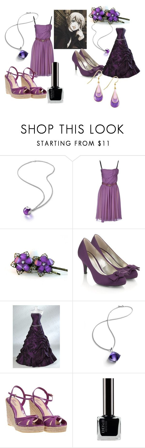 Alois Trancy Dresses by animangafashion on Polyvore featuring moda, ICE ICEBERG, Gucci, Monsoon, Silver Forest and Baccarat