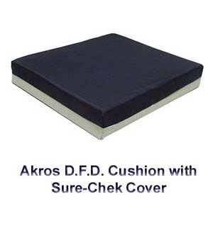 Akros Gel Wheelchair Cushion with Sure-Chek Cover $89.00 FREE Shipping from uCan Health || These Akros 811 Series gel wheelchair cushions are designed for long term care patients at risk of pressure ulcers with the function of pressure relief. Shipping is free., wheelchair cushions, gel wheelchair cushions, gel pressure relief, wheelchair gel seat cushions