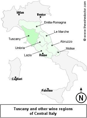 Central Italy, © www.thewinedoctor.com