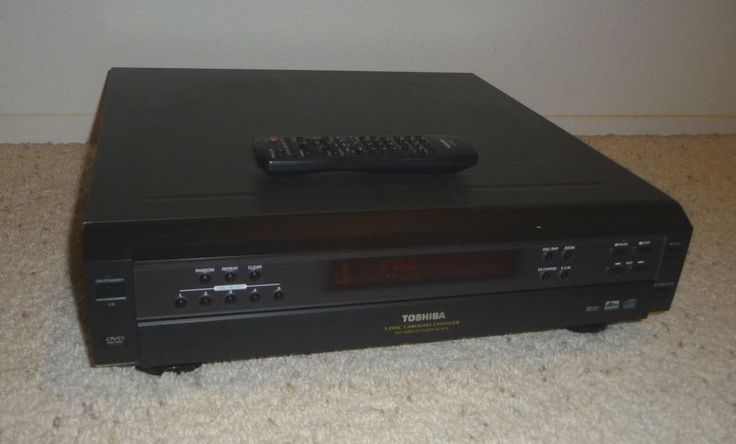 Toshiba SD-K615 DVD Video CD Audio Player 5 Disc Carousel Changer Multi  #Toshiba