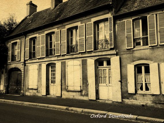 Bayeux France Photography French Street French by OxfordDownloads