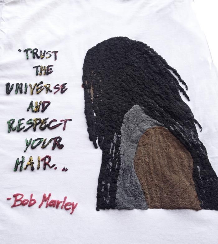 Dreadlocks Man Tshirt Rasta T-shirt Bob marley Quote – QuorArtisticTshirts