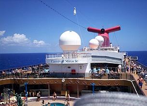 Croisière (Floride et Bahamas) sur le Carnival Miracle