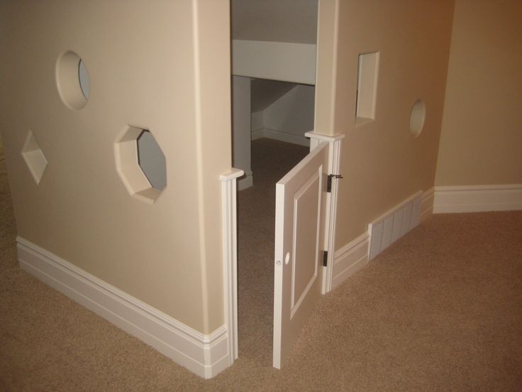 Crawl Space Under The Stairs Play House Luke S Handy