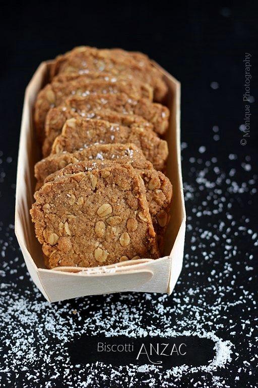 Biscotti Anzac | MIEL & RICOTTA