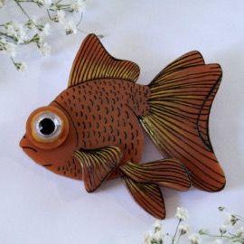 Goldfish - Copper | 2016 | Winnifred's Daughter