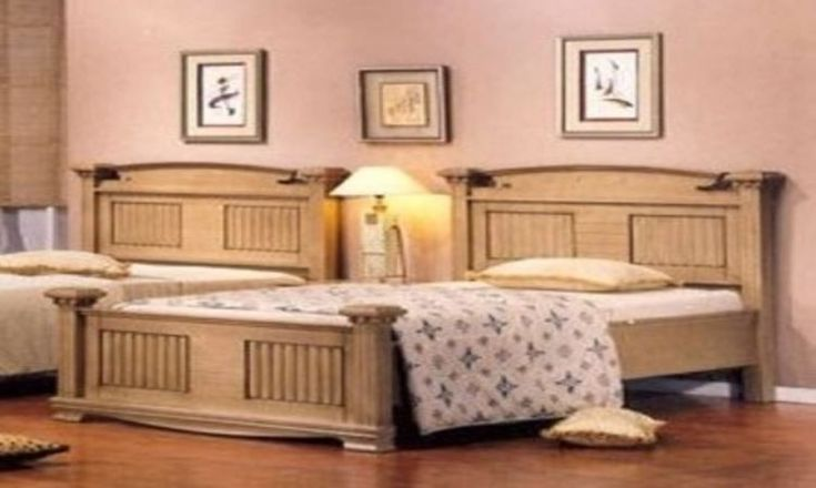 Antique Style Solid Wood Queen Bed & Bedside & Dressing Table & Mirror
