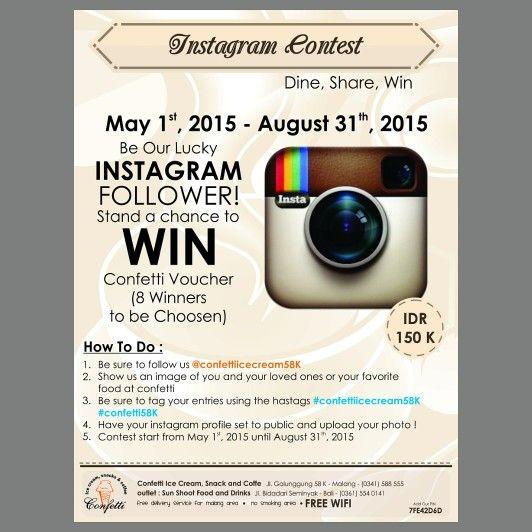 Instagram Contest !