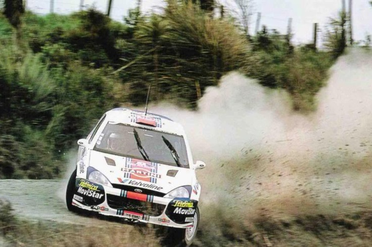 Colin McRae - This dude was crazy. Basically if he didn't win it was because he wrecked.
