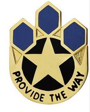 472nd Chemical Battalion Unit Crest (Provide the Way)
