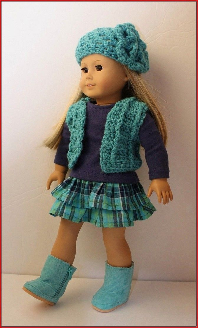 Free Crochet Doll Clothes Patterns For 18 Inch Dolls Crochet Doll