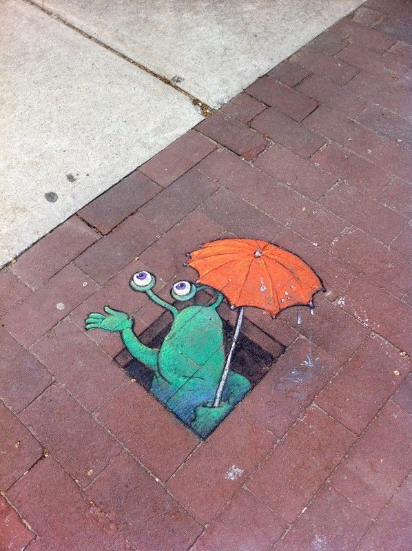 David Zinn - Ann Arbor, Michigan-based artist. (20 pictures). Come and see over 1 million photos in our database.