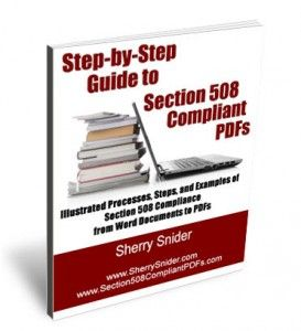Resolving Issues with Bullets for 508 Compliance, text readers, and read aloud functions...plus a little background info on why bullets can be so complicated. - Blog update for www.Section508CompliantPDFs.com