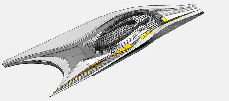 amanda levete architects EDP cultural centre lisbon designboom