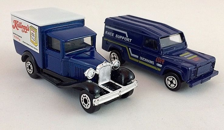 Matchbox & Corgi Vintage Toy Van & Truck Collection - 1970's 80's #CorgiandMatchbox #ModelAFordandLandRover