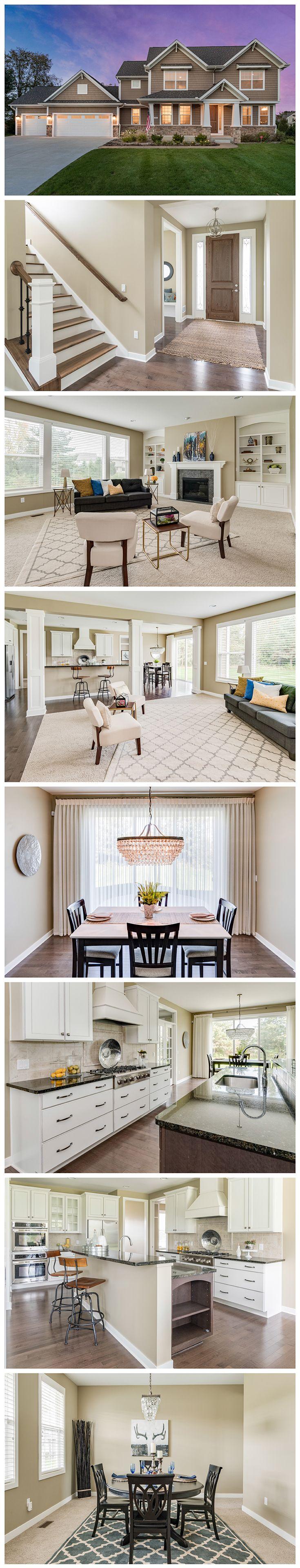 "Portage, MI | ""Beautiful hardwood & elegant high ceilings/tall doors...Gourmet Kitchen with granite counters, custom upgrades & handmade range hood...Designer chandeliers..."""
