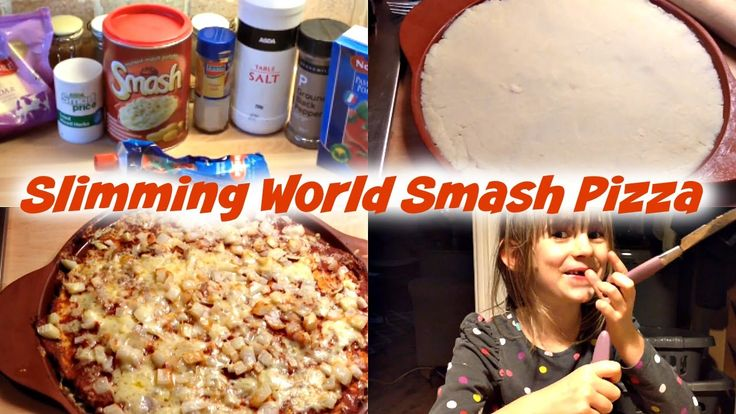 Syn Free Smash Pizza | Slimming World  | Make It Mondays