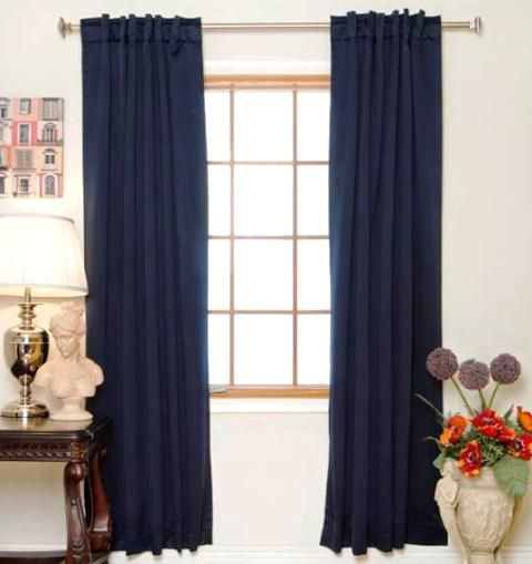 Navy Shower Curtains, Kitchen Window Curtains And