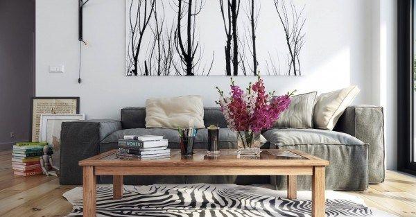 Северный дизайн интерьера имеет несколько имен: норвежский минимализм, скандинавский стиль интерьера, скандинавский минимализм. Этот стиль характеризуется белыми стенами, легкими деревянными полами, обилием естественного света и яркими акцентами в виде декора. Работа Hoang Minh, который отдает предпочтение более контрастным направлениям в скандинавском стиле