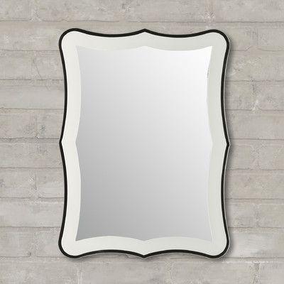 Varick Gallery Logan Wall Mirror & Reviews   Wayfair