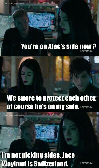 Season 1 Episode 9: Jace, Izzy, Alec