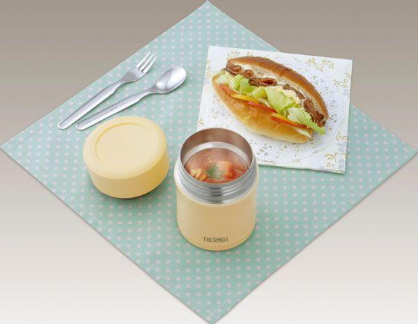 【楽天市場】サーモス 真空断熱フードコンテナー JBJ-300 バニラ(1コ入)【サーモス(THERMOS)】[保温弁当箱 ランチジャー スープジャー お弁当箱 花見]【送料無料】:爽快ドラッグ