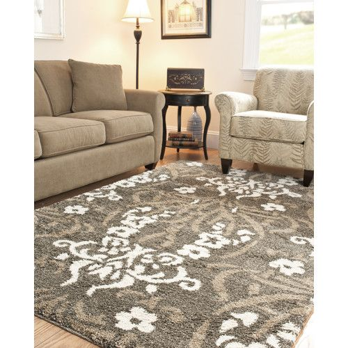 Safavieh Florida Shag Oversized Rug In Smoke / Beige, Grey/Beige