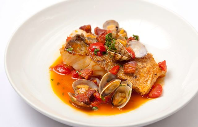 Anna Hansen's cod with clams recipe has a hint of spice - thanks to some spicy chorizo - and takes just 30 minutes to prepare