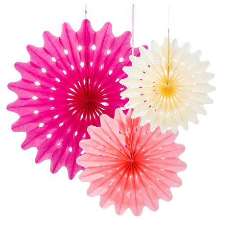 Paper Fan Decoration