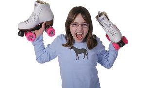 Groupon - Roller Skating and Skate Rental for Two or Four or Family Outing Package at Orbit Skate Center (Up to 50% Off) in Palatine. Groupon deal price: $12