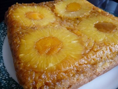 Our Daisy Patch: Recipe of the Week-Pineapple-Mango Upside-Down Cake