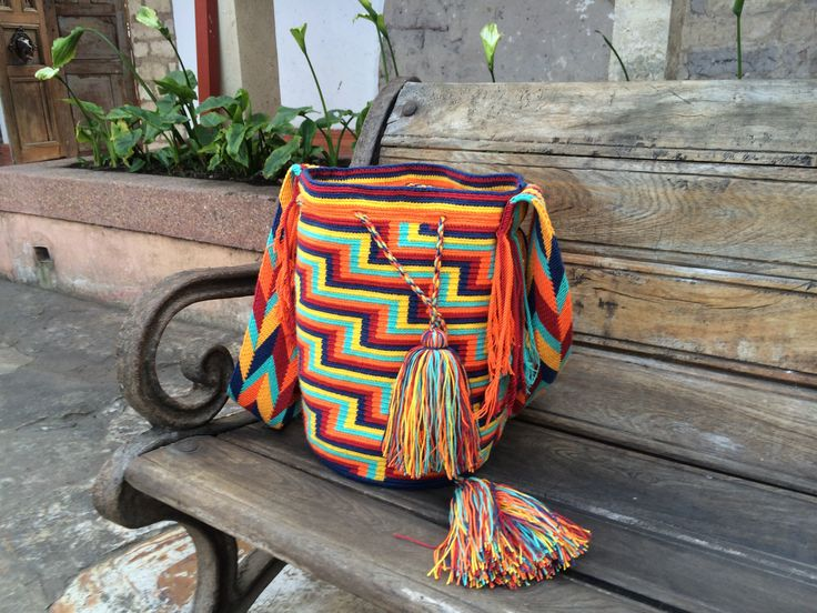 One of a kind Wayúu bag designde by WAYA   #bohobag #bohofashion