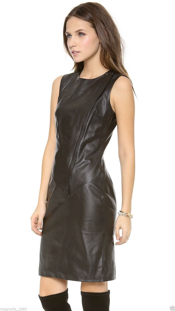 276 Best The Leather Dress Images On Pinterest | Black Leather Dresses Leather Dresses And ...
