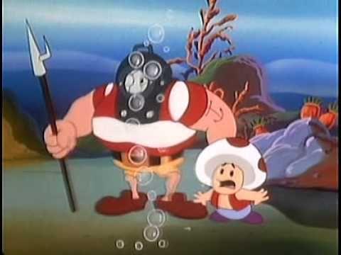 Super Mario Bros Super Show Episode 26 - 20,000 Koopas under the Sea (+p...