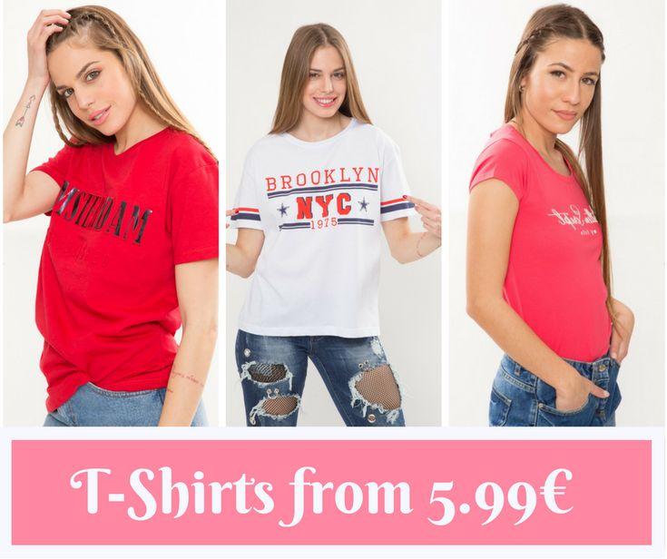 🔥 T-Shirts από 🔖5,99€ 🔥  ☎ 2310524549  www.basefashion.gr  #fashionista #instyle #fashionaddict #instafashion #passionforfashion #fashionlover #fashionablelife #newcollection #stylediary #spring #άνοιξη #summer #shoppinstar