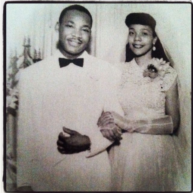 Dr. King and Coretta Scott, our Brother in Alpha Phi Alpha and his wife, a sister from Alpha Kappa Alpha.