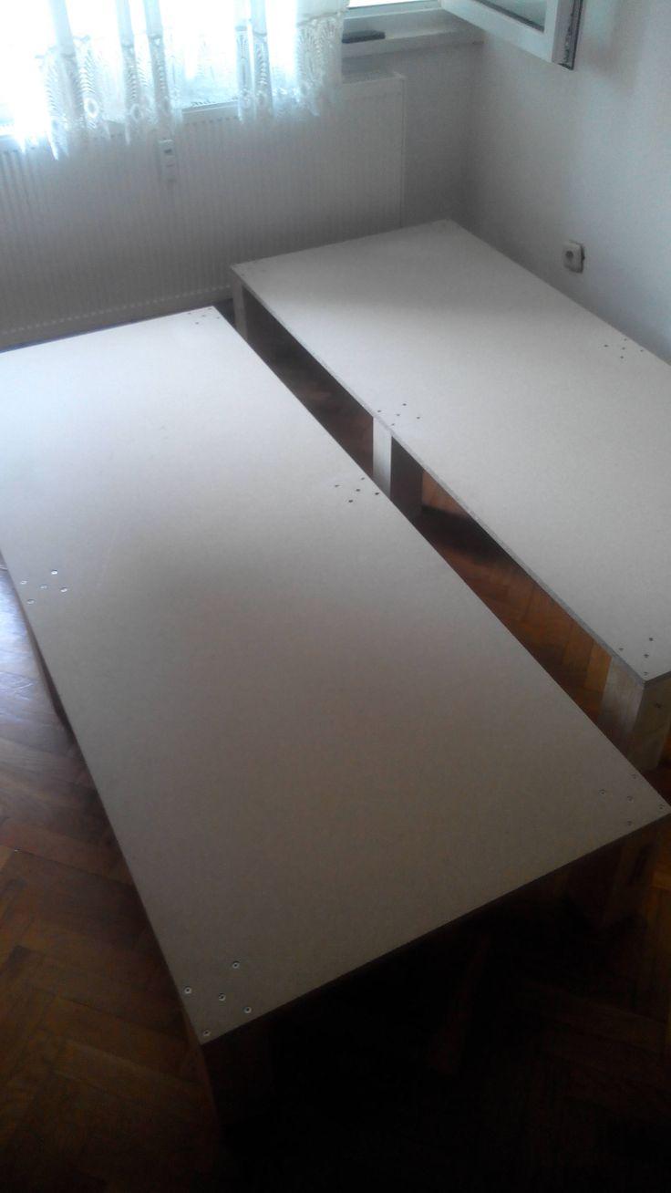 Best 25 cheap bed frames ideas on pinterest cheap for Make a platform bed cheap