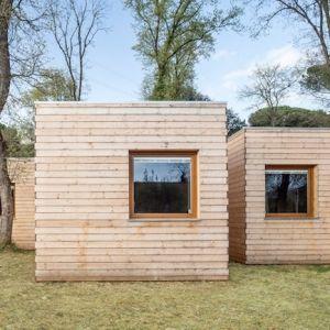 6つの小さな小屋が合体! エネルギー効率の良い家「Casa GG」 | 未来住まい方会議 by YADOKARI | ミニマルライフ/多拠点居住/スモールハウス/モバイルハウスから「これからの豊かさ」を考え実践する為のメディア。