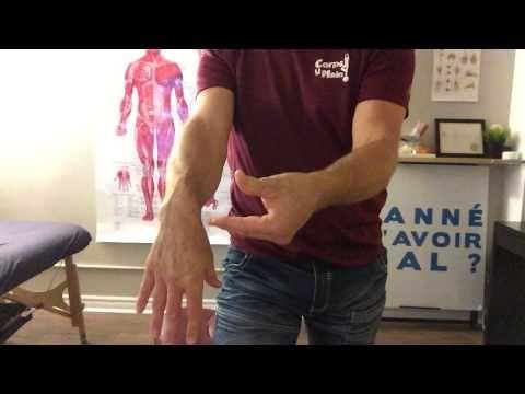 Étirement des muscles de l'avant-bras - Soulager et prévenir tendinite e...
