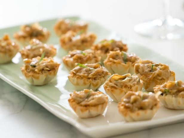 Get Caramelized Vidalia Onion and Goat Cheese Tartlets Recipe from Food Network