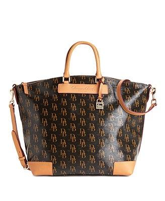 Dooney & Bourke Handbag, Signature 1975 Vanessa Satchel - Dooney & Bourke - Handbags & Accessories - Macy's