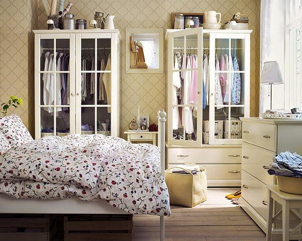 glass fronted wardrobe 2