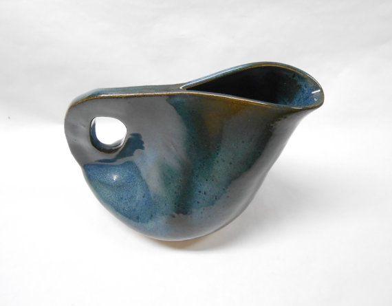 Pottery Pitcher Ceramic Pitcher Pottery Water by PotteryBySaleek, $30.00