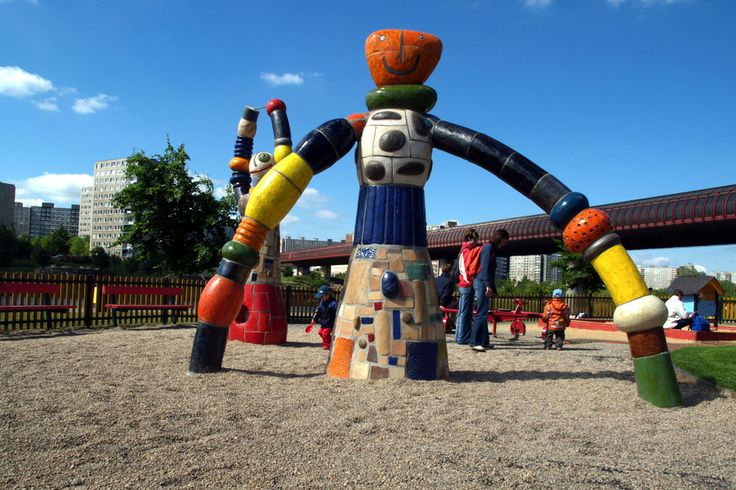 Mom and Dad, playground, Prague (CZ)