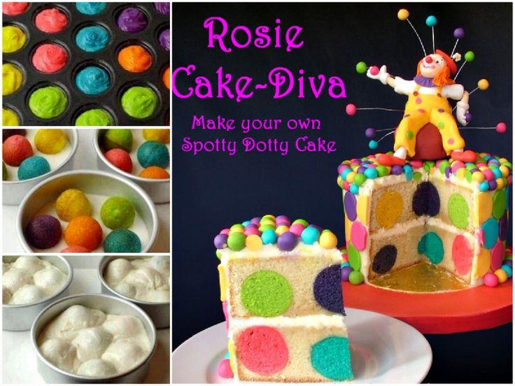 Spotty Dotty Cake