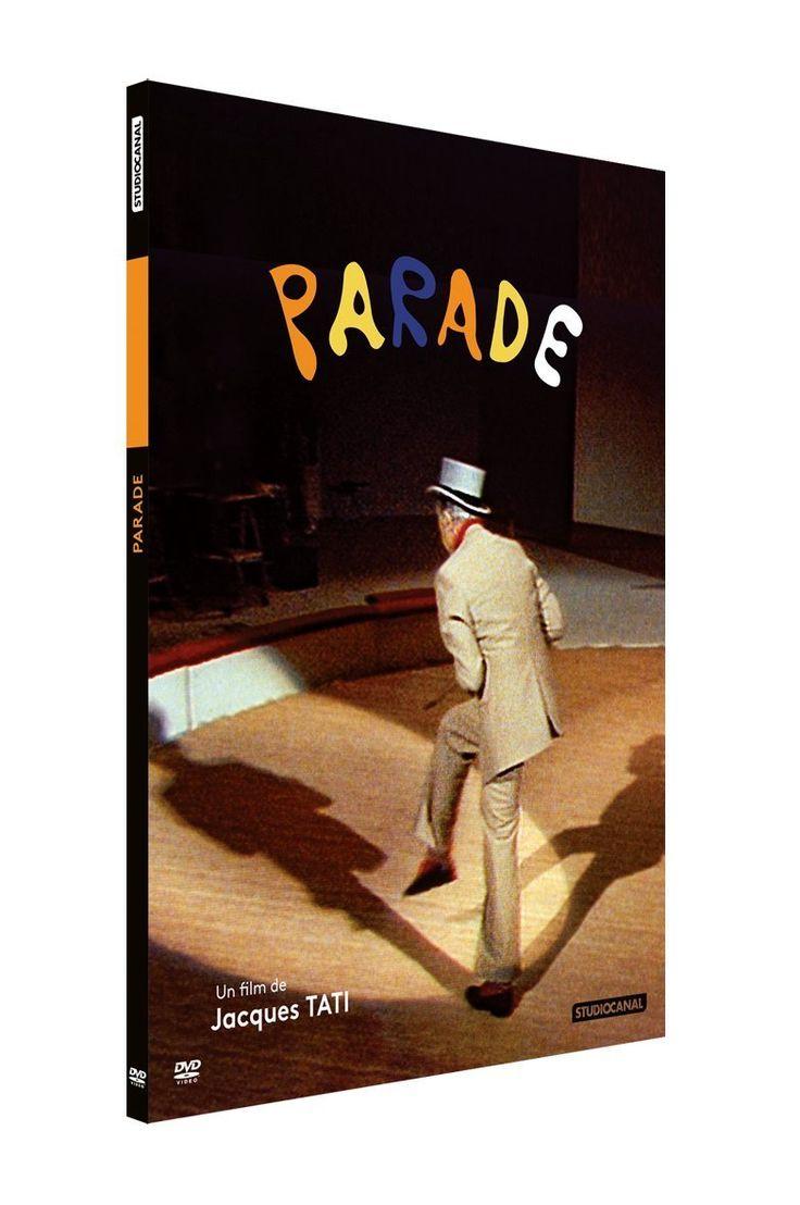 Parade /Jacques Tati   http://hip.univ-orleans.fr/ipac20/ipac.jsp?session=14K282760P263.4421&profile=scd&source=~!la_source&view=subscriptionsummary&uri=full=3100001~!519473~!6&ri=1&aspect=subtab48&menu=search&ipp=25&spp=20&staffonly=&term=parade&index=.GK&uindex=&aspect=subtab48&menu=search&ri=1