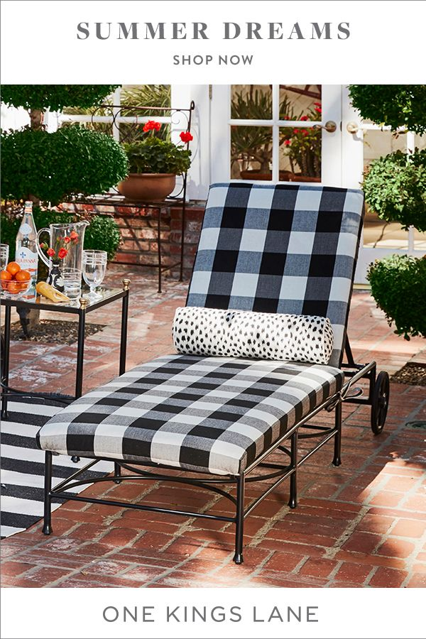 Your Alfresco Oasis Starts Here With Outdoor Furniture Rugs Lighting And More From One Kings Lane Shop Desig Backyard Furniture Outdoor Rooms Patio Design