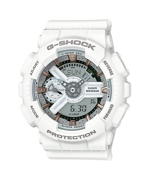 casio gshock white and rose dial resin quartz mens watch check out this great product