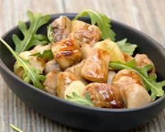 Poulet sauté au wok et au miel (facile, rapide) - Une recette CuisineAZ