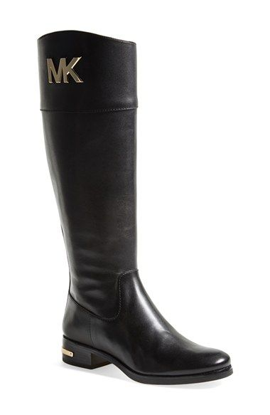 MICHAEL Michael Kors 'Hayley' Leather Boot | Nordstrom